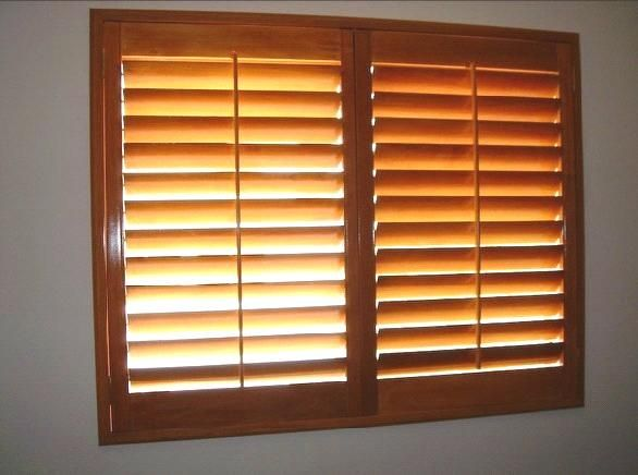 natural maple plantation shutters - Google Search | interior paint ...
