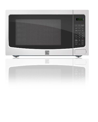 Kenmore White 1 1 Cu Ft Countertop Microwave 73114 With Images