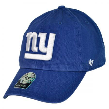 New York Giants NFL Clean Up Baseball Cap available at  VillageHatShop 1ed60cfab6e