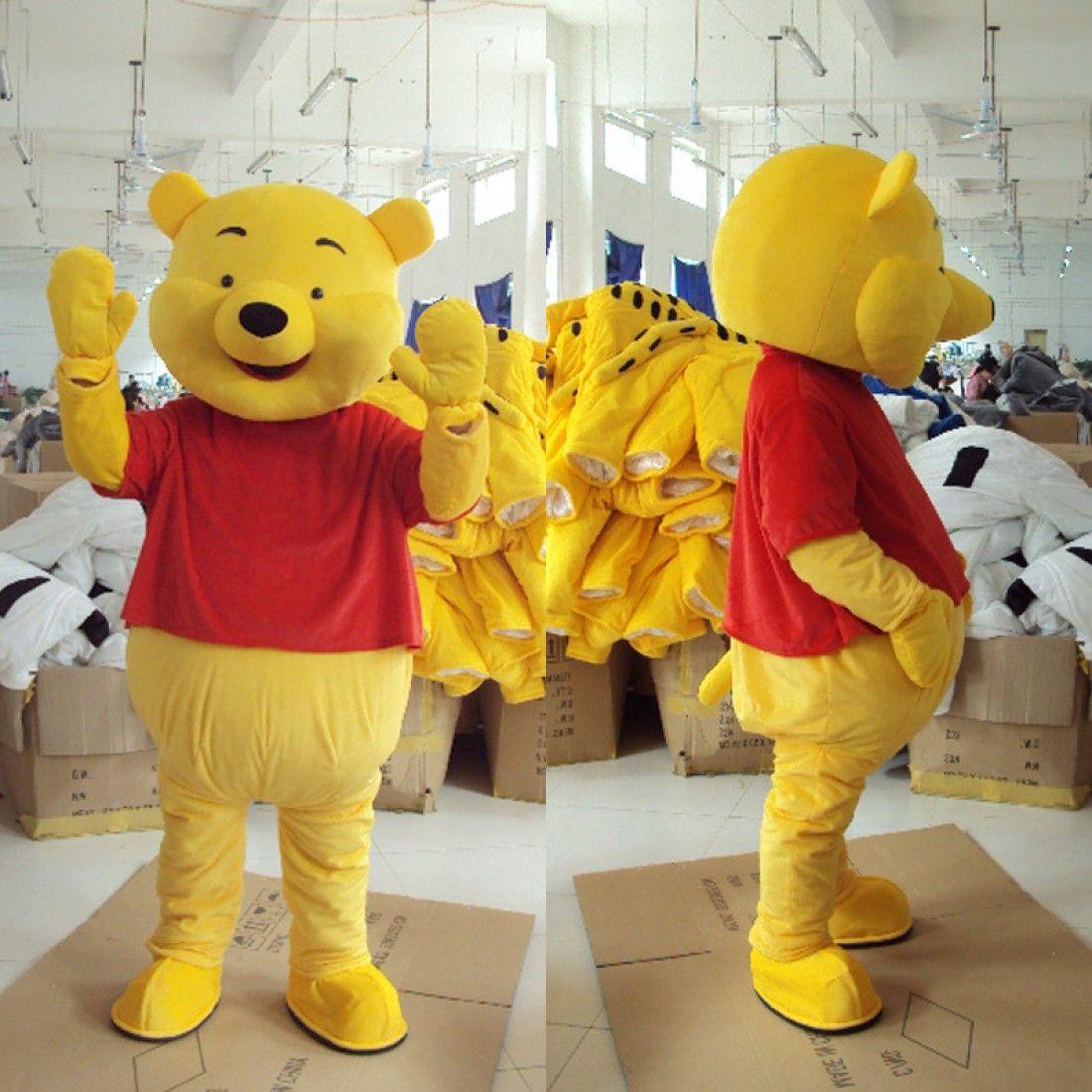 Bear costume mascot costumes cosplay holloween mascot