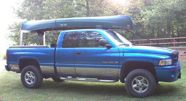 Picture of Build Your Own Low Cost Pickup Truck Canoe Rack