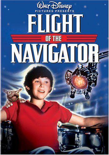 Flight Of The Navigator Dvd Joey Cramer Http Www Amazon Com Dp B0001i562i Ref Cm Sw R Pi Dp T9wfqb03wbgv6 Flight Of The Navigator Kids Movies Movies