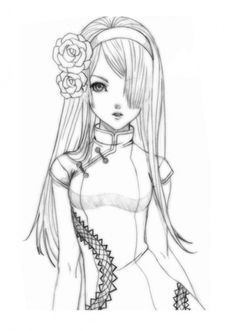 Coloring Pages For Adults Anime Google Search Coloring Pages