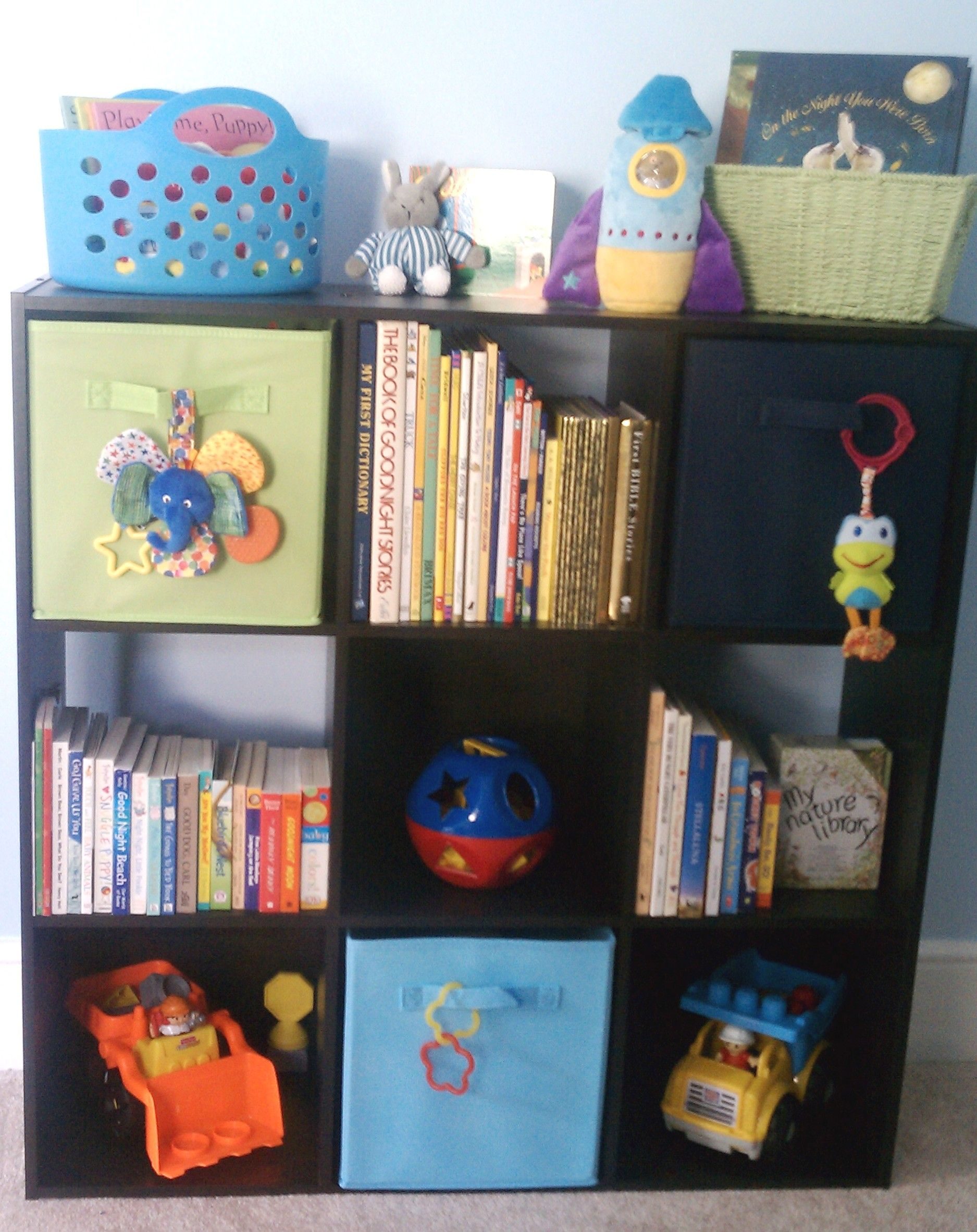 Book And Toy Storage From Target Toy Storage Boy S Room Home