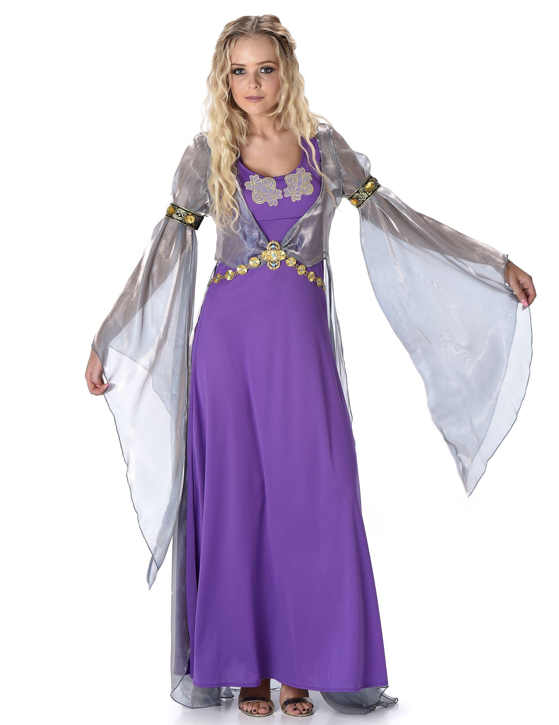 fa032b9e2ca Déguisement princesse médiévale femme   Ce déguisement est composé d une  robe