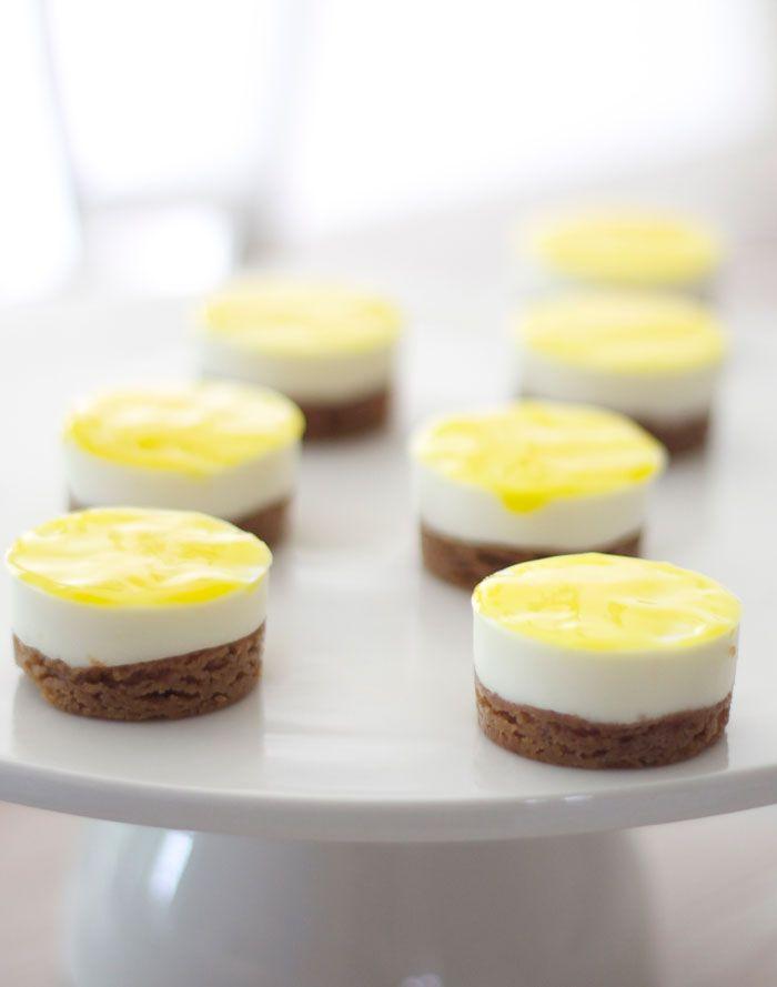 Winnende recept Heel Holland bakt: citroencheesecakejes van Rutger. Voor in de #decotoren van #tupperware