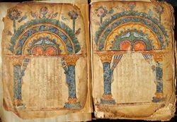 illustrations from the Garima Gospels