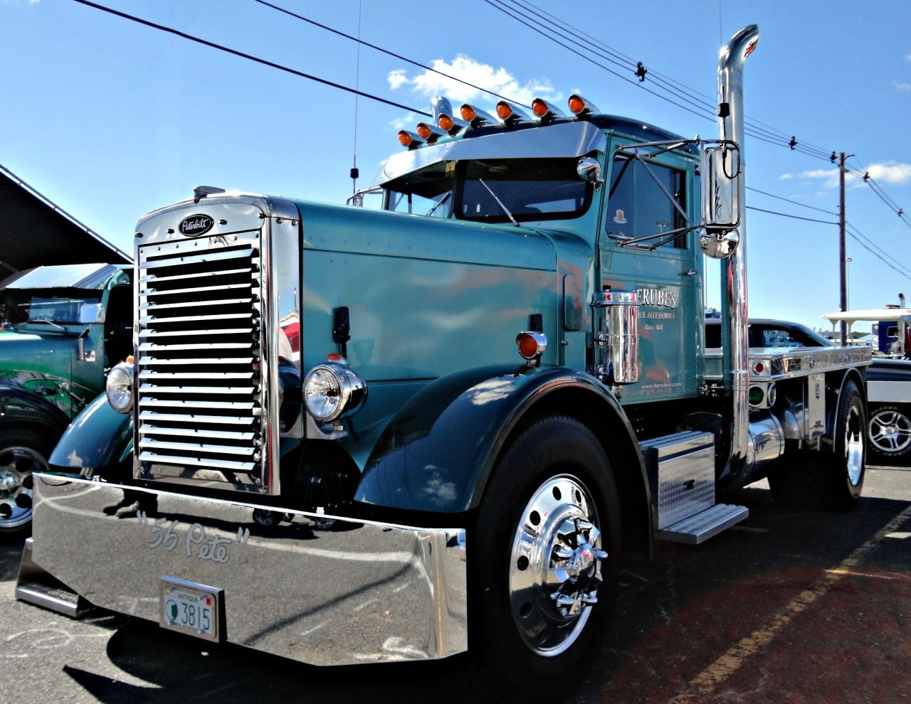 1956 Peterbilt custom 281   Peterbilt Trucks!!!!   Big rig