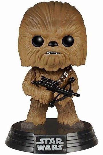 Star Wars Episode VII POP! Vinyl Cabezón Chewbacca 10 cm