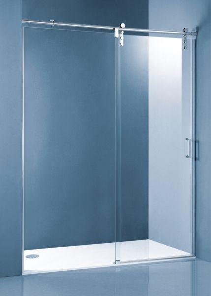 Mampara de ducha corredera de acero inoxidable oferta for Oferta mampara ducha