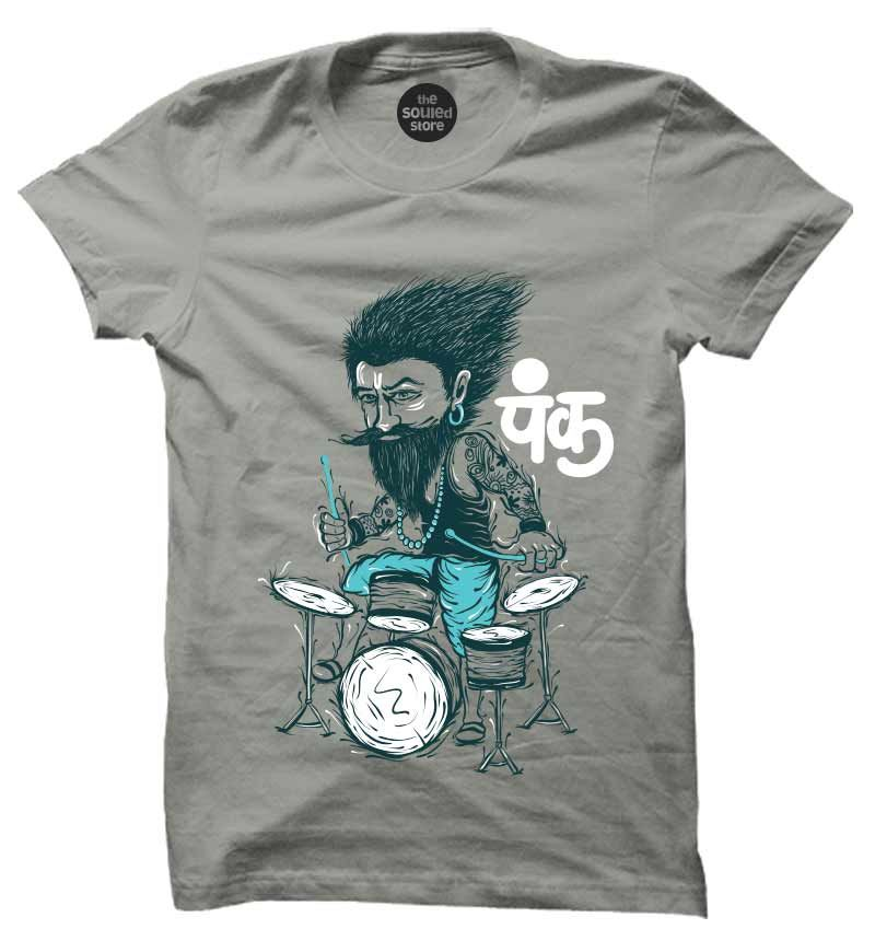 Punk T-Shirt | Buy Cool T-Shirts Online in India | The Souled ...
