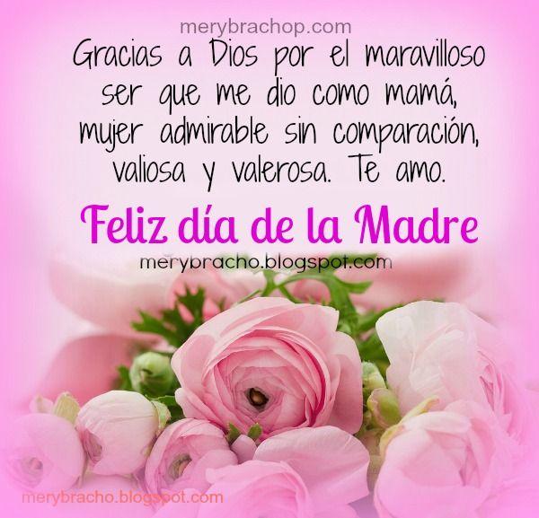 Frases Cristianas Madre Feliz Día De La Madre Mensaje Del