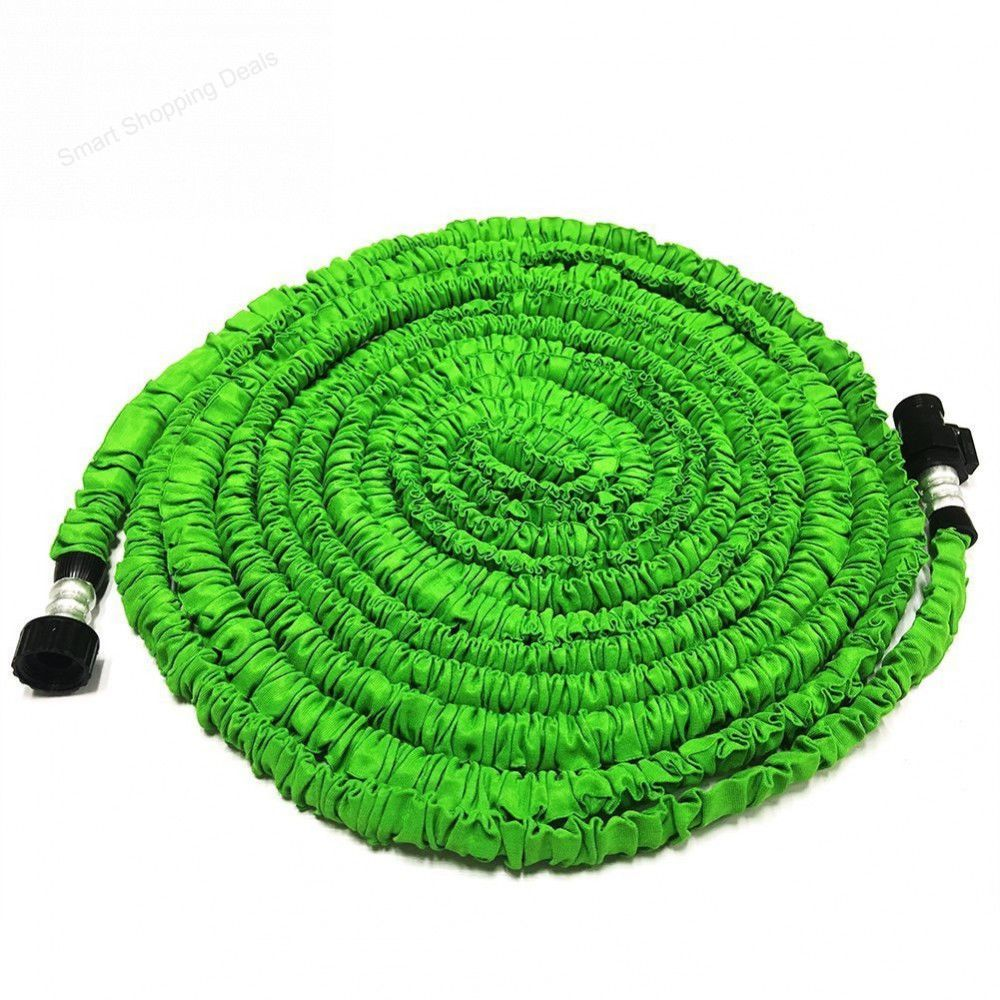 expandable water hose 75ft flexible garden hoses with triple layer latex core - Flexible Garden Hose