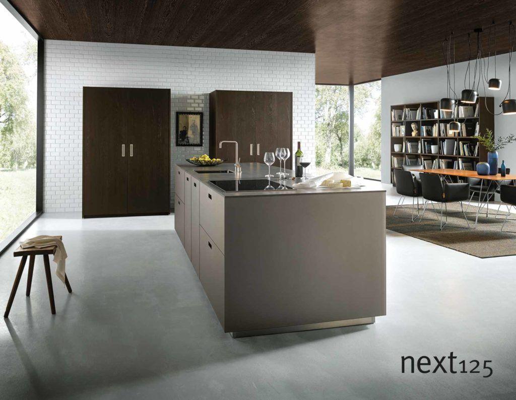 Ihre neue next125 küche! designküche nx902 in platin metallic in