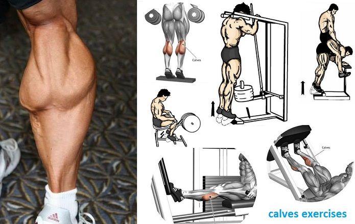 Gemelos, los músculos diferentes