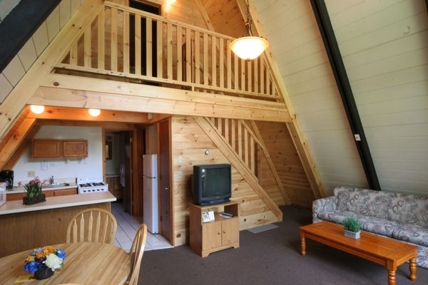 A frame interior go back gallery for a frame cabin for A frame house plans free