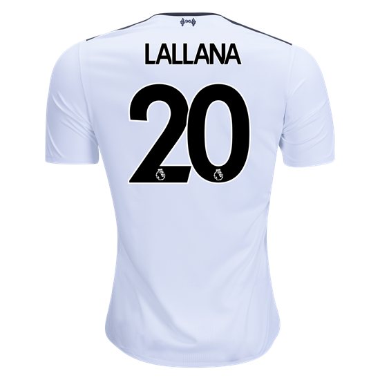 17/18 Liverpool Adam Lallana #20 Away Jersey New Balance
