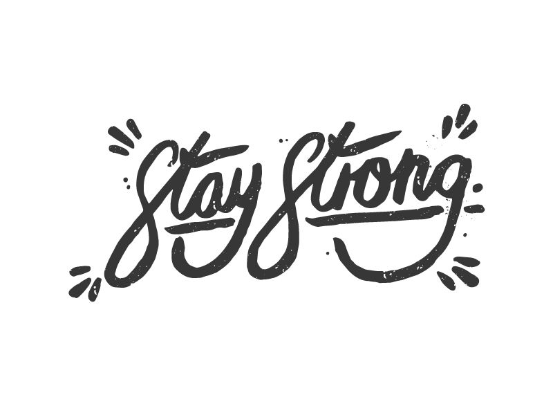 Stay Strong by Daniel James Baker (Lincoln / Everywhere