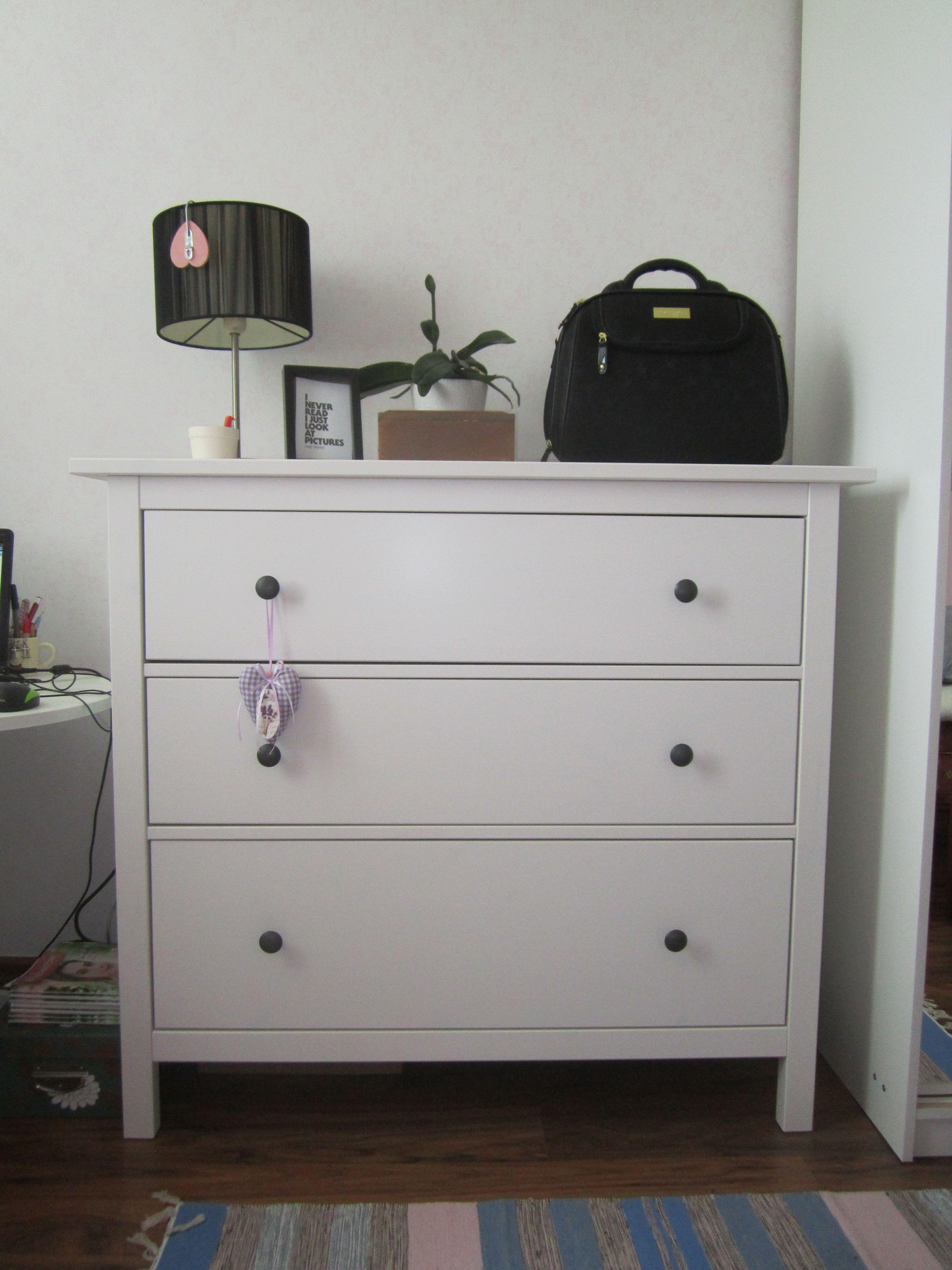 Komoda Hemnes Ikea Home Sweet Home Hemnes I Pokój