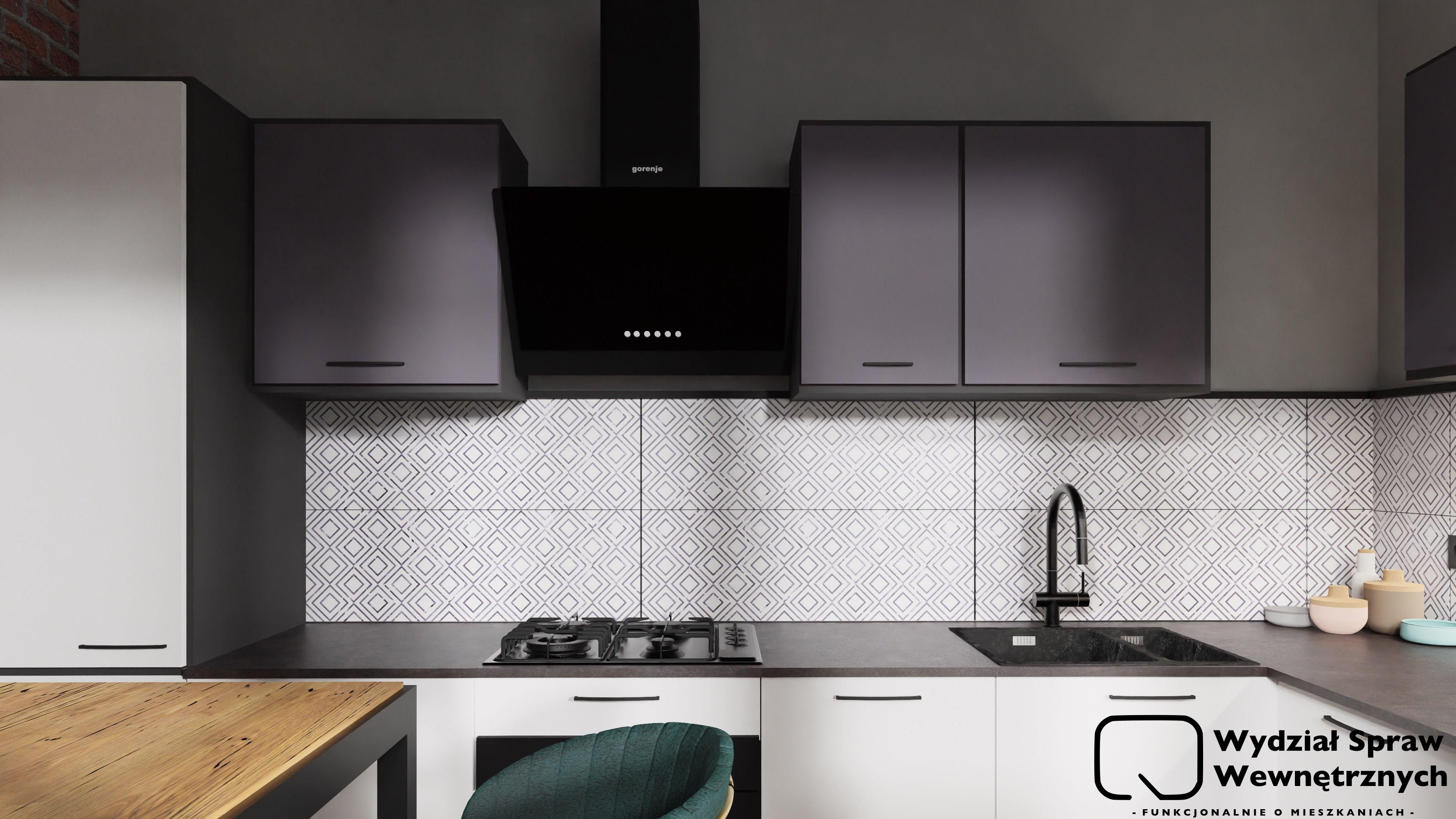 Bialo Grafitowa Kuchnia Kuchnia Agata Meble Prosta Kuchnia Home Decor Home Kitchen Cabinets