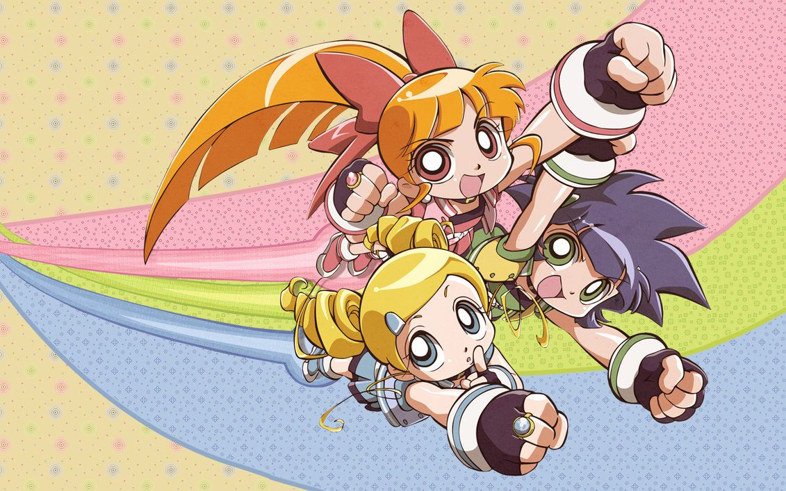 Powerpuff Girls Z Wallpaper by lookatthesea on DeviantArt