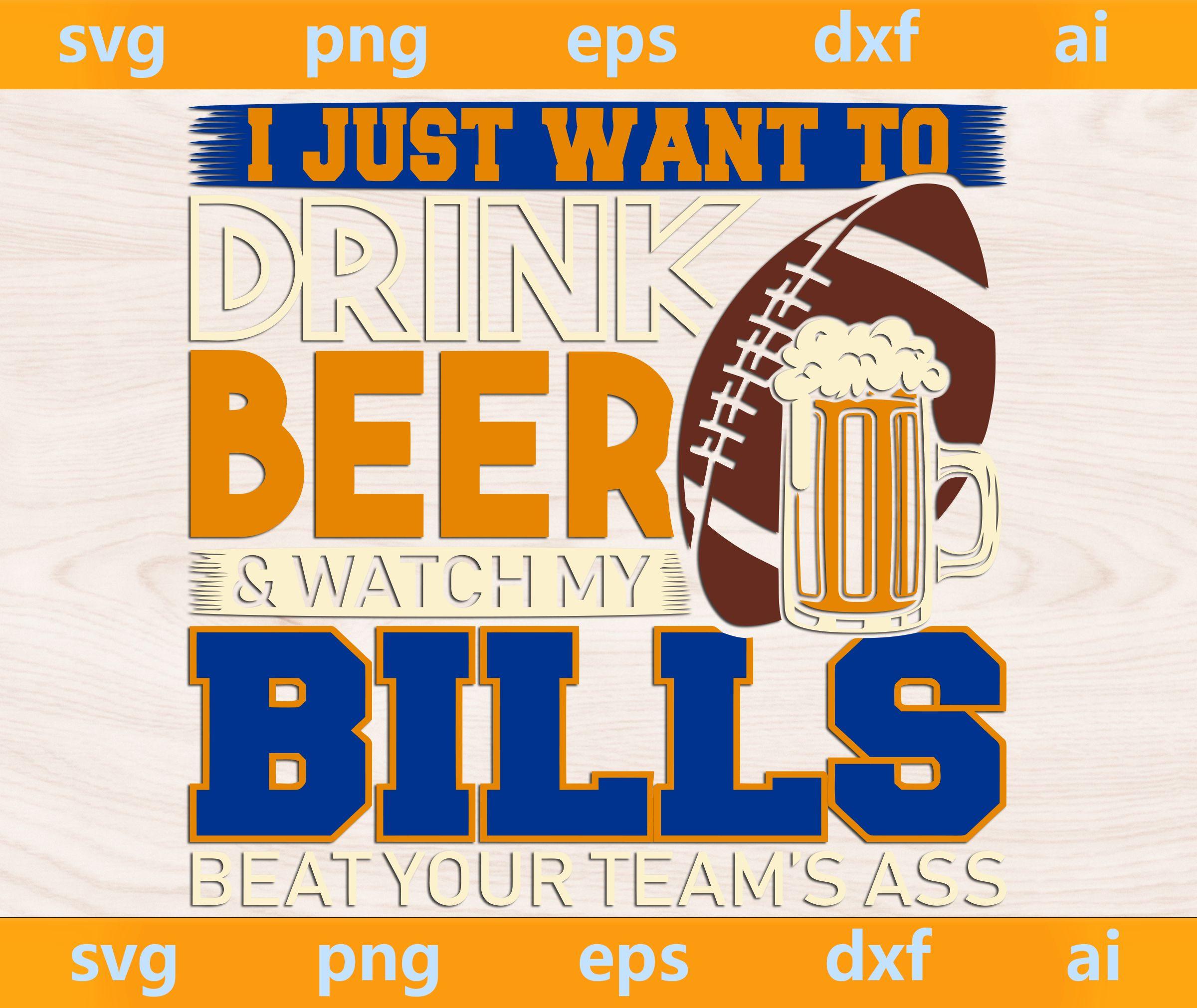 Bills Football, This Girl Loves Her Bills svg, Buffalo