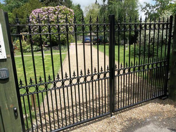 GATE 2019 Results Pinterest: Ornate Automated Driveway Gates; Metal Gates (Steel & Iron