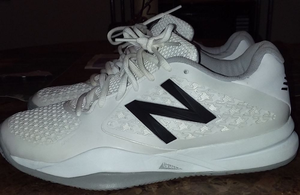 buy online 390bf ff5d5 Women New Balance 996 NB10S Shoes Trainers White Grey Worn ...