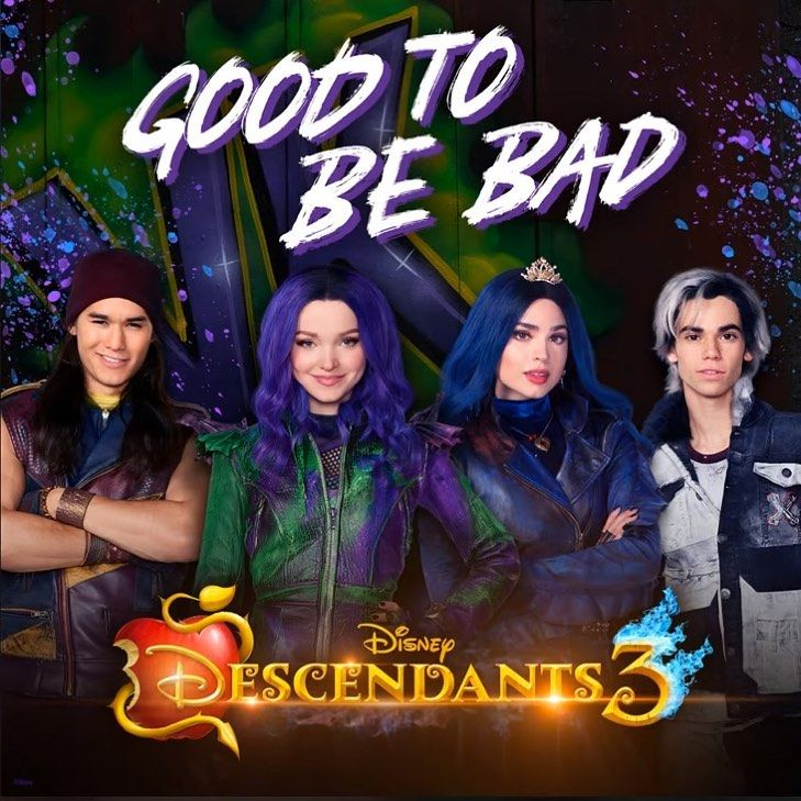 Good to be Bad on iTunes now???? Descendants 3 ????@dovecameron  @sofiacarson @booboostewart.art @thecameronboyce @disneydescendants #descendants… #descendants3