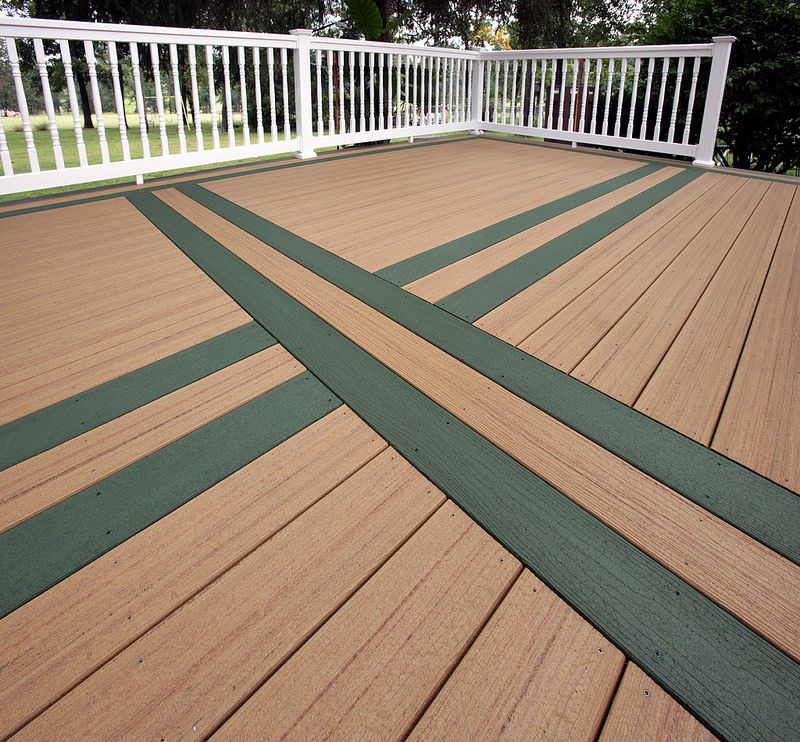Best Tamko Evergrain Forest Green Composite Decking 400 x 300