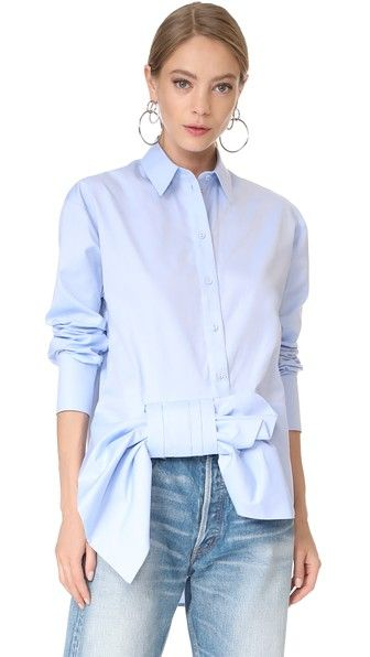 Victoria Victoria Beckham asymmetric long-sleeve shirt Buy Cheap Real Outlet 2018 Unisex Buy Cheap Lowest Price 4cdc5A