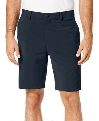 (Sponsored)eBay - Alfani NEW Eclipse Blue Mens Size 36 Casual Flat Front Stretch Shorts $55 #085