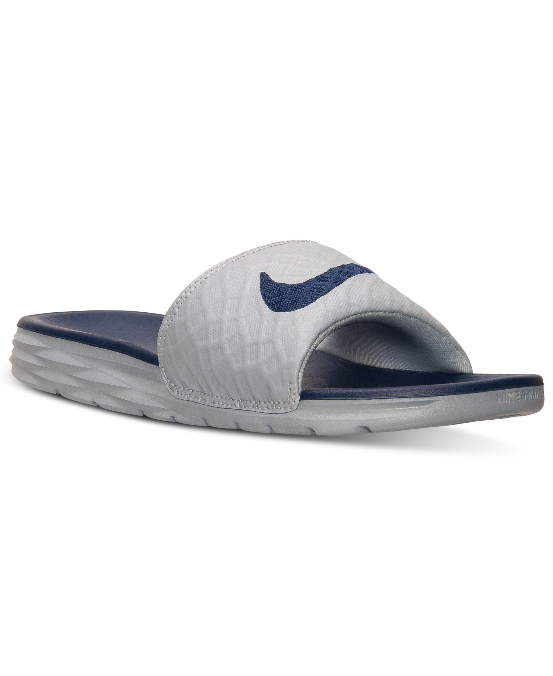 Nike Men's Benassi Solarsoft Slide 2