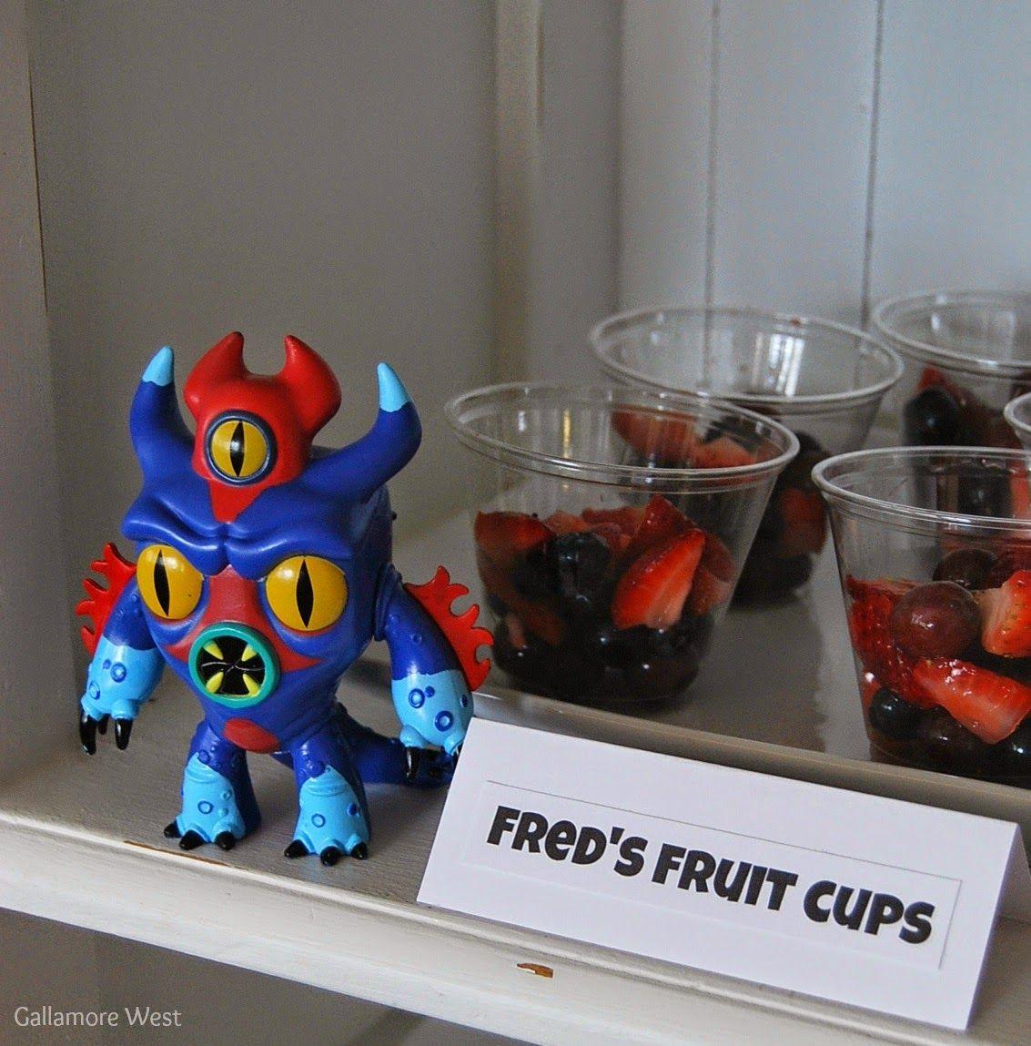 Big Hero 6 Fred's Fruit Cups