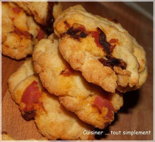 Cookies chorizo tomates s ch es cuisiner tout simplement le blog de cuisine de - Cuisiner les tomates sechees ...
