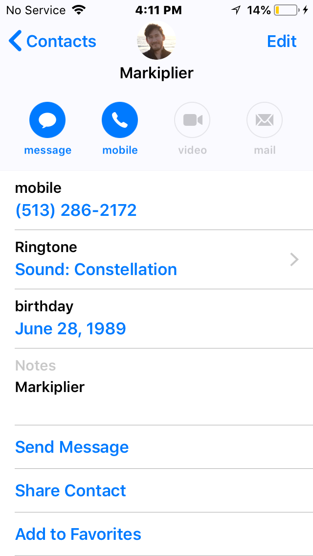Markiplier phone number if anyone still needs it if you don