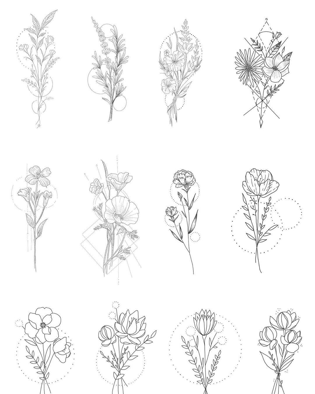 Nenhuma Descricao De Foto Disponivel Floral Tattoo Design Flower Tattoo Designs Flower Tattoo
