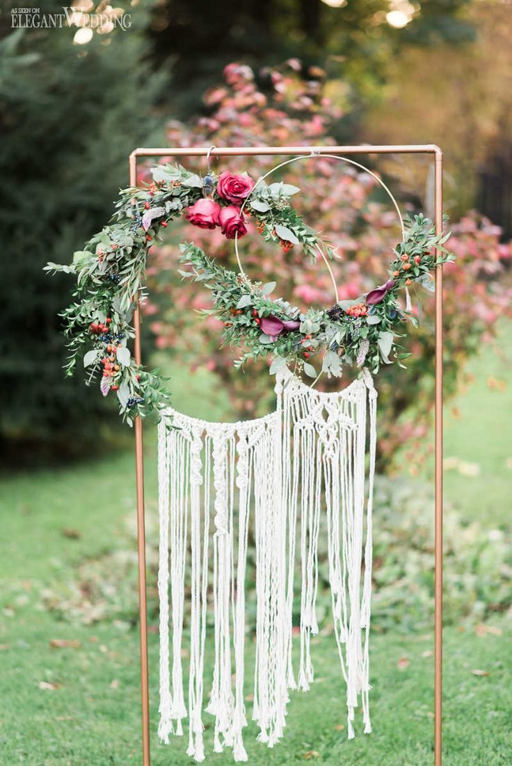 Vibrant Bohemian Wedding Inspo for Fall #fallnature