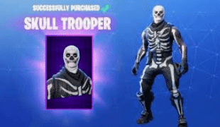 Skull Trooper Is Now On The Fortnite Item Shop But Original Owners Get Something Special Trooper Skullcredit Epic Game Fortnite Trooper Epic Fortnite