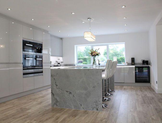 Best Remo Dove Grey Colourhill Kitchen Grey Kitchen 400 x 300