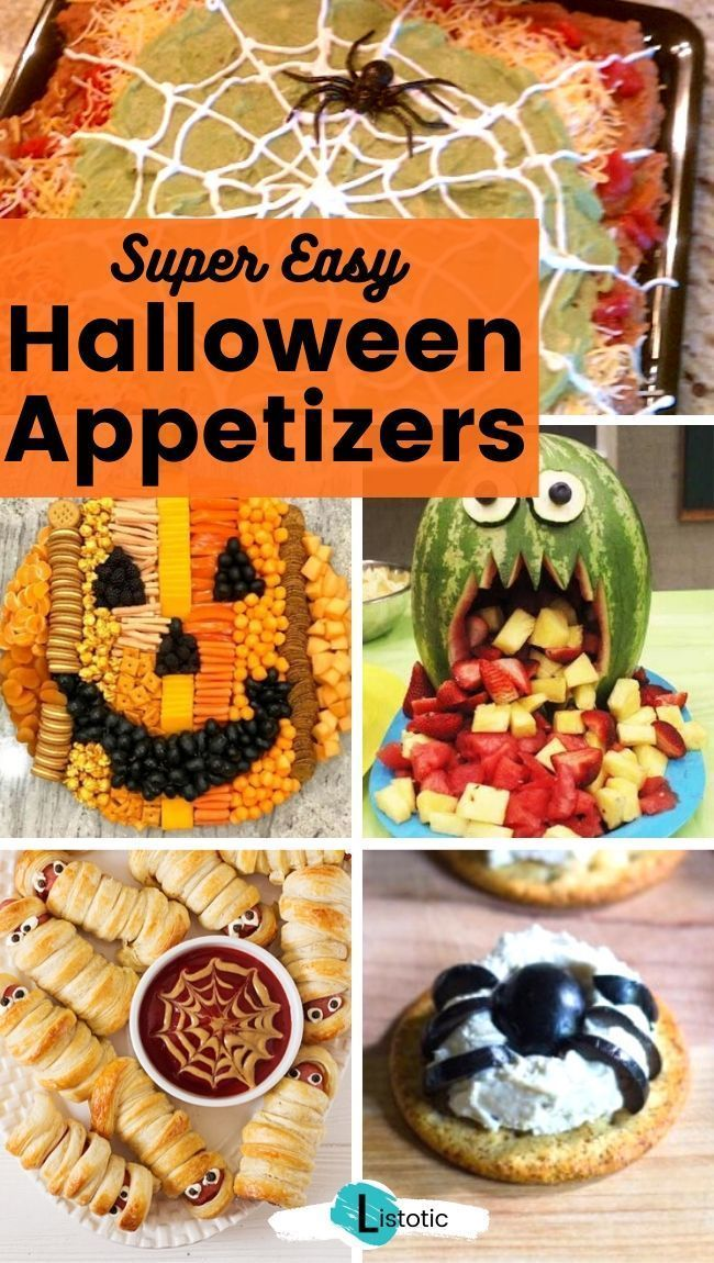 Super Fun Halloween Appetizers
