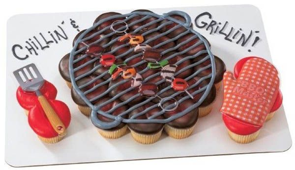 10 Cool Father S Day Cakes With Images Cupcake Cakes Pull