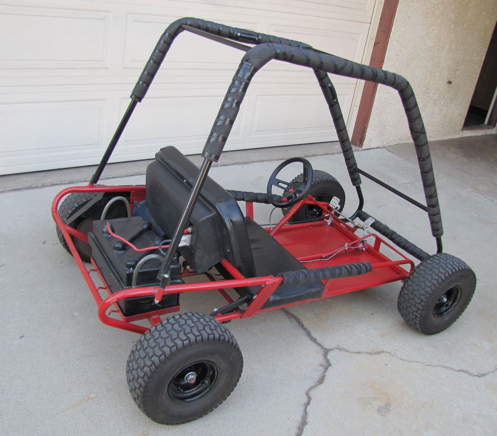 working kango electric go kart go cart ebay atv. Black Bedroom Furniture Sets. Home Design Ideas