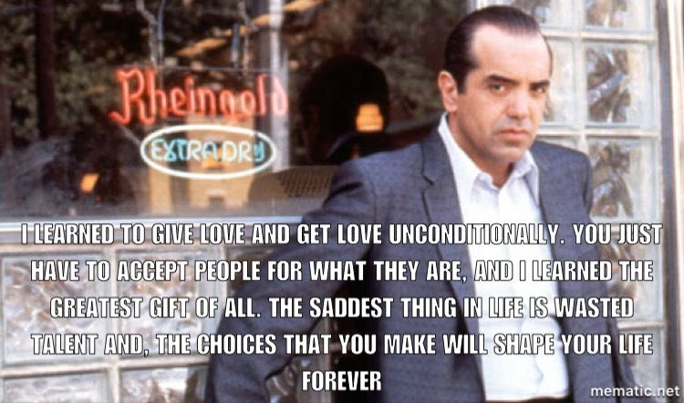 ✨😎🇮🇹❤️So many good quotes from Bronx tale | Movies | A ...
