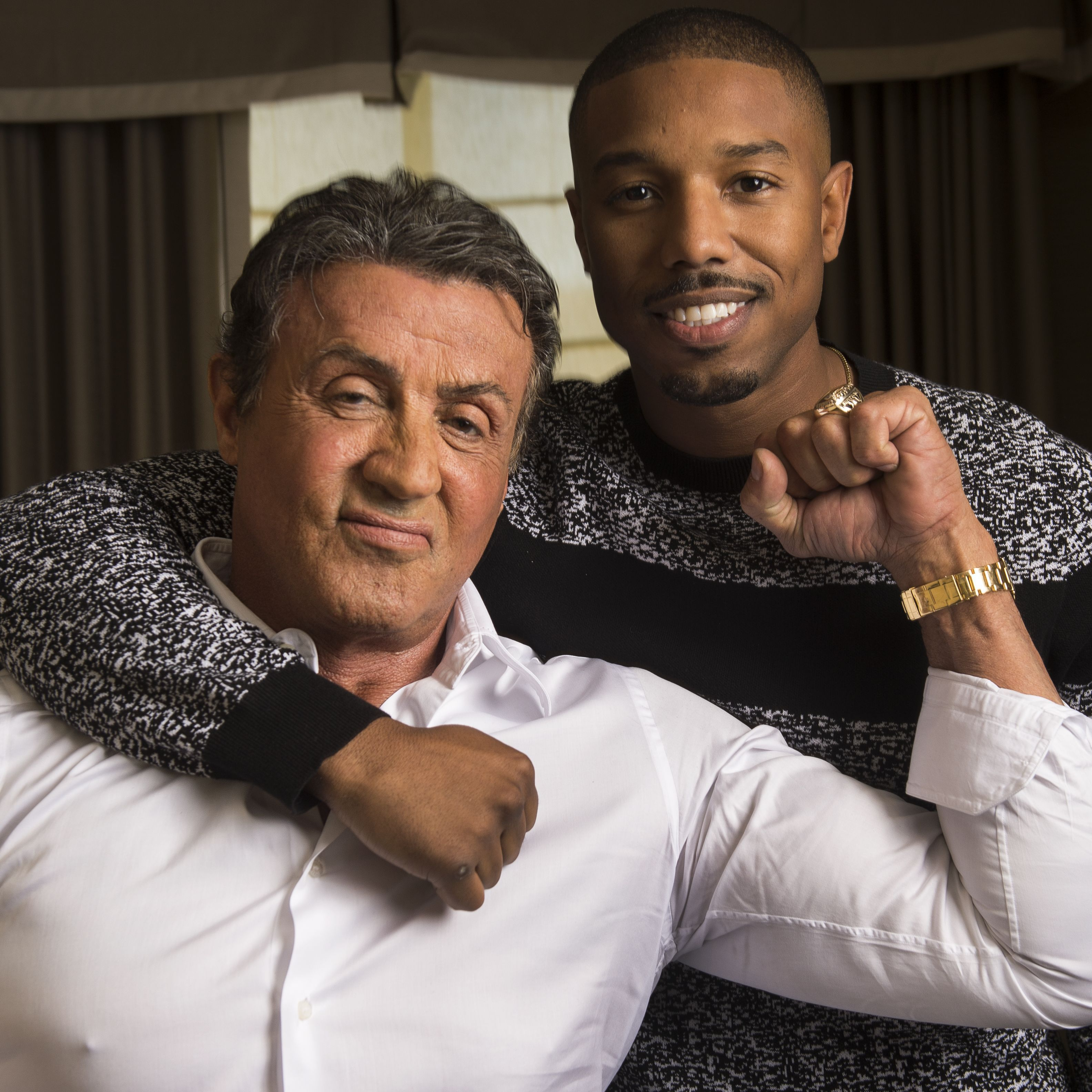 be48a78ed332 Sylvester Stallone gives fans a first look at  Creed 2  with an unofficial  movie poster.