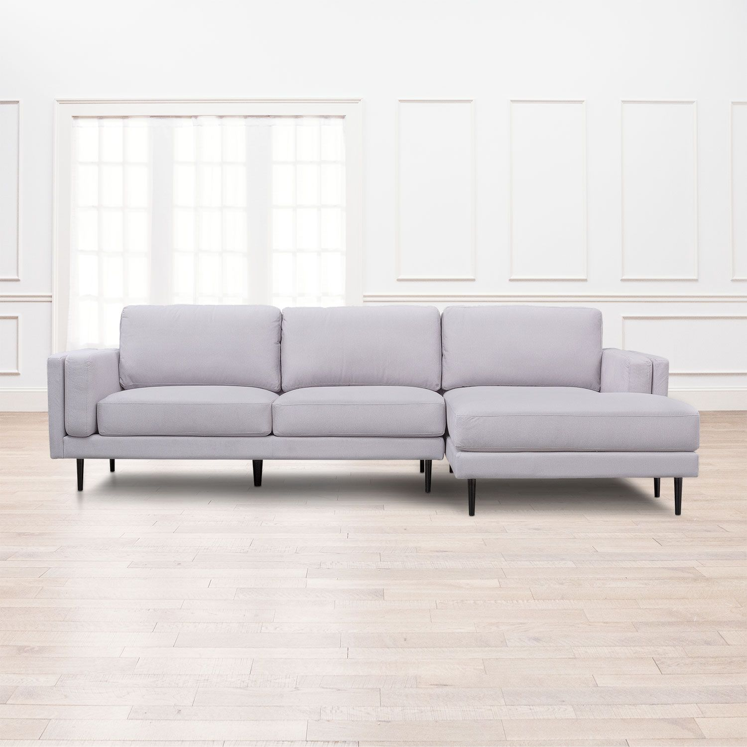 Best West End 2 Piece Sectional With Chaise Value City 400 x 300