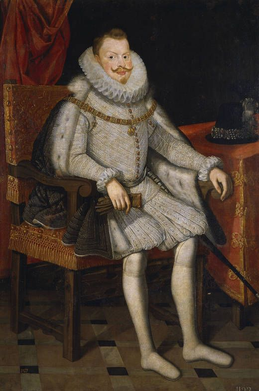Bartolomé González.  Felipe III, rey de España, 1615