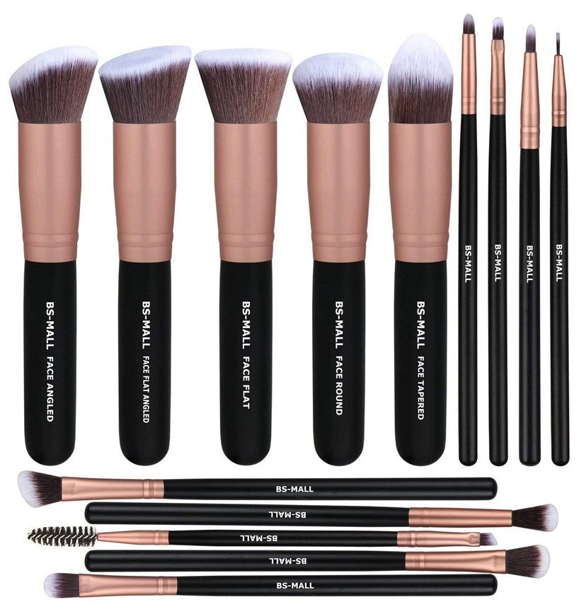 39 Bargain Beauty Products On Amazon With The Highest Reviews Black Makeup Brush Set Eye Makeup Brushes Makeup Brush Set Best