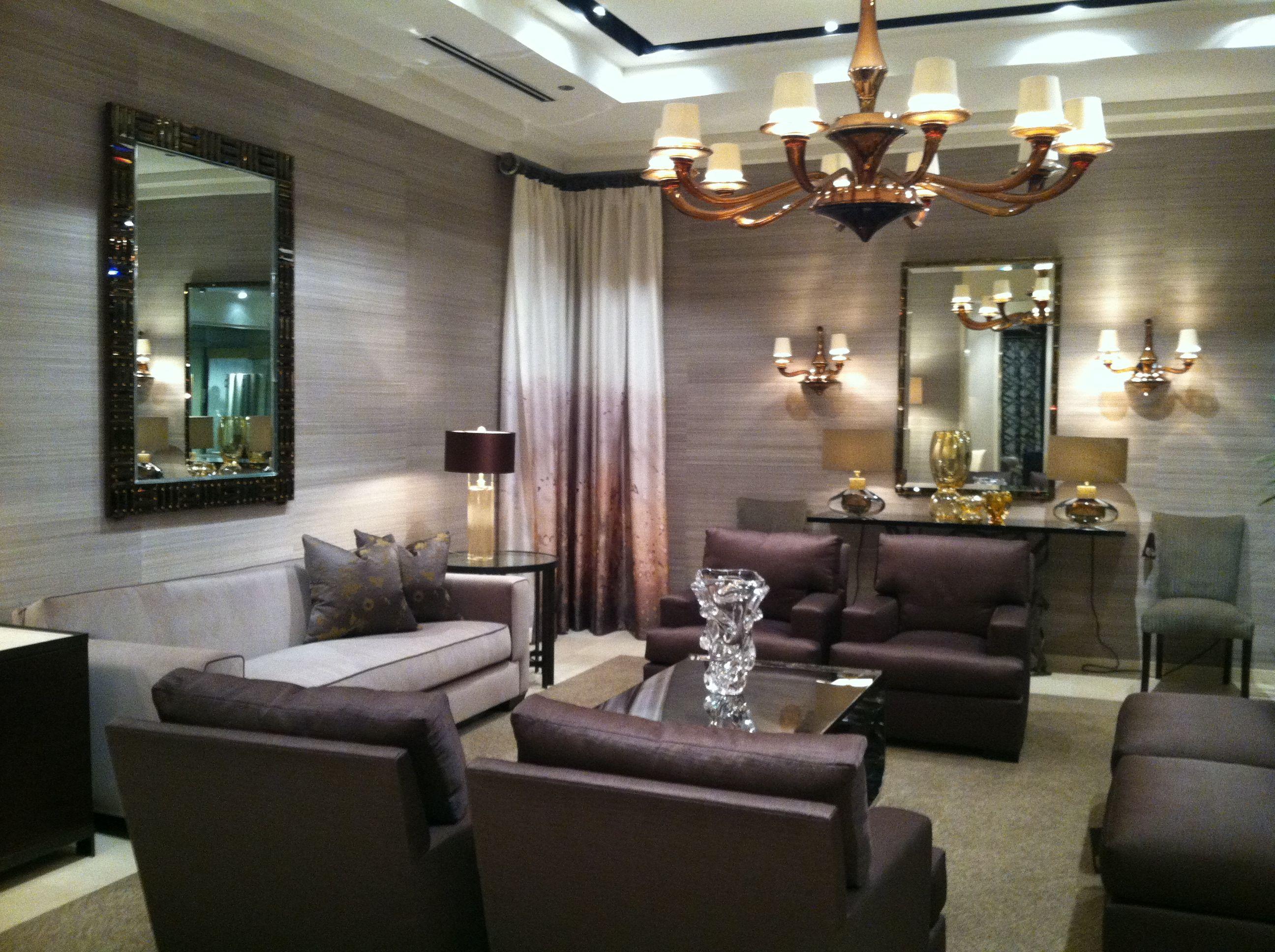 Donghia Chicago Divan Sofa Sutton Club Chair Infinity Tables