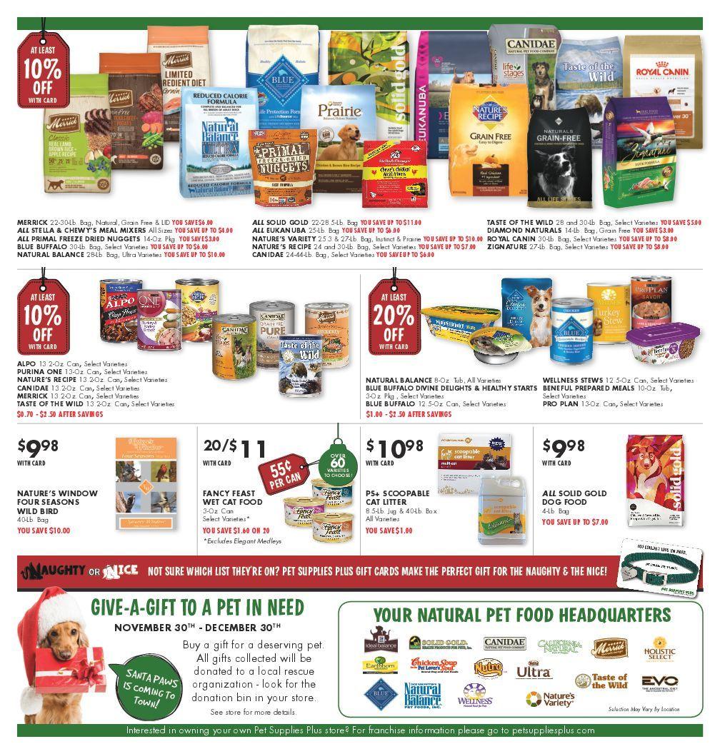 Page 4 Pet Supplies Plus Grain Free Pet Supplies